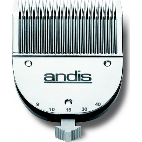 photo de Lame (tête de coupe) réglable de 0.5mm à 2.5mm ANDIS (TC68210) pour tondeuse ANDIS RBC animale