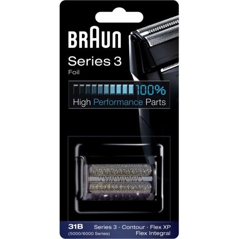 photo de Braun 31B grille de rasoir pour rasoir électrique séries 3 Flex Integral / Flex XP / Contour