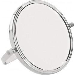 photo de Miroir grossissant X10 en métal à poser de diamètre 15cm, (64217A)