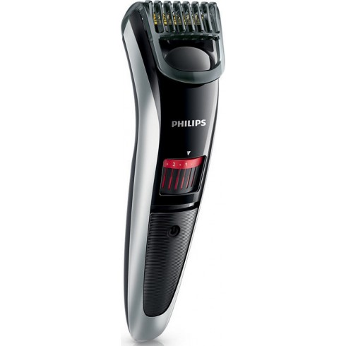 photo de Tondeuse PHILIPS QT4013 barbe et barbe de 3 jours recharg. lavable, lame titane