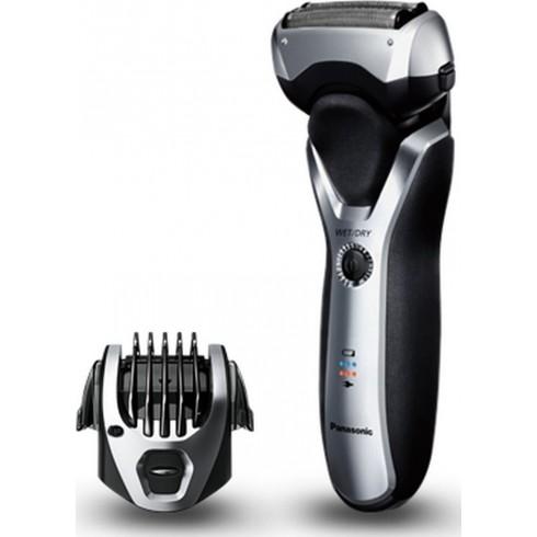 photo de PANASONIC ES-RT47-503 rasoir rechargeable 3 lames métal + accessoire barbe 1 à 7 mm