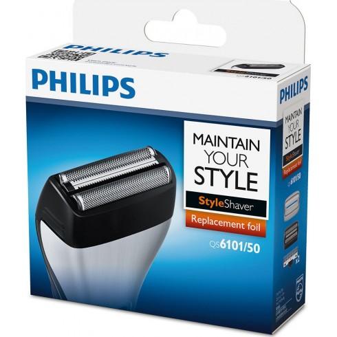 photo de PHILIPS QS6101/50 Tête tondeuse, grille rasage pour tondeuse barbe QS6140/41/60/61 StyleShaver