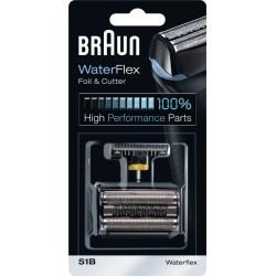 photo de Braun 51B Combi Pack, grille et couteau pour rasoir électrique Braun Series 5, WF2S black