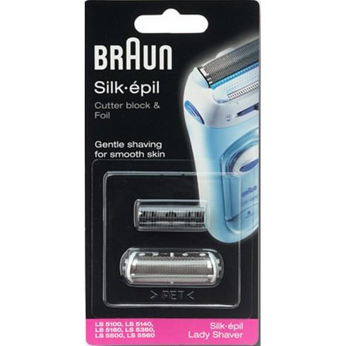 photo de Braun CPLS5000 Tête (grille et couteau) pour rasoir féminin LadyShave LS5160
