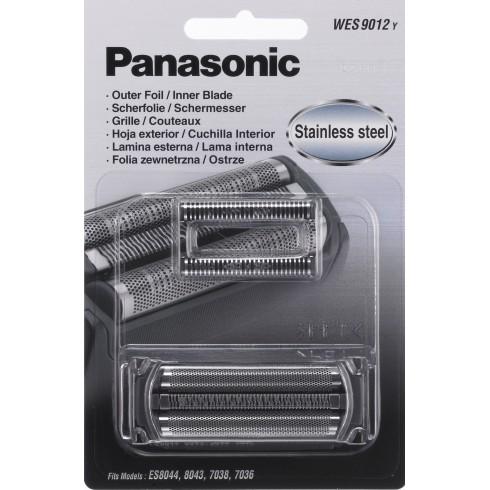 photo de Panasonic WES9012Y Tête de rasoir (Grille et couteau/combi-pack) pour rasoir électrique Panasonic ES7101 / ES6002 / ...