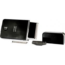 """photo de Lordson L2056 Rasoir électrique de voyage \\""""Pocket Shaver\\"""" rechargeable + combi pack offert"""
