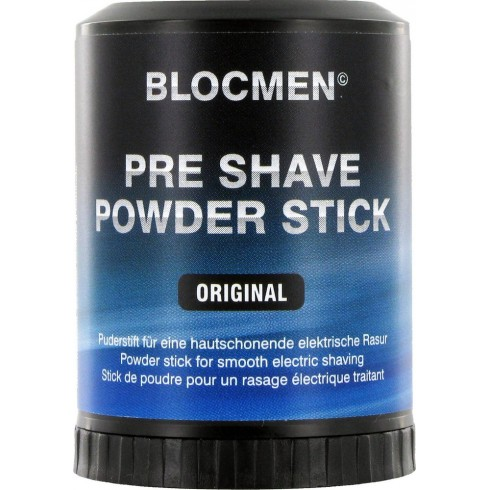 photo de BLOC MEN Stick de poudre avant rasage électrique