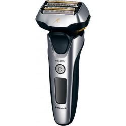 photo de Panasonic ES-LV6N-S803 Rasoir rechargeable W&D 5lames silver, moteur linéaire, capteur de barbe