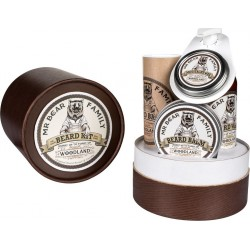 photo de Kit Coffret soins à Barbe Woodland 470ml MR BEAR FAMILY