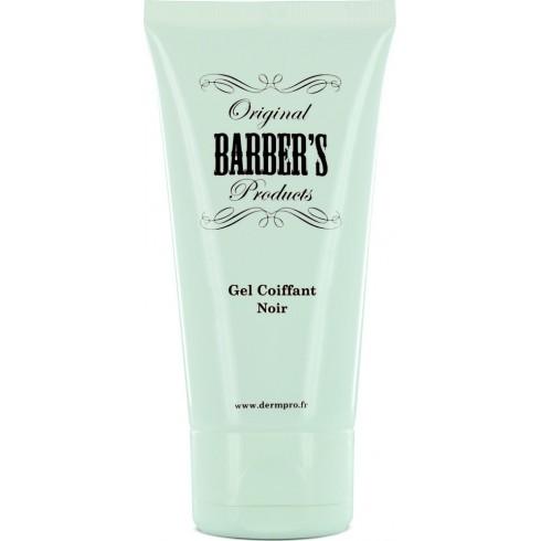 photo de Gel à barbe coiffant et colorant noir 50ml BARBER'S