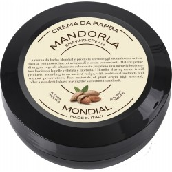 photo de Crème à barbe MANDORLA, amande douce 75ml MONDIAL 1908