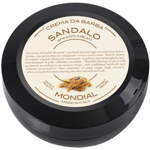 photo de Crème à barbe SANDALO, bois de santal 75ml MONDIAL 1908