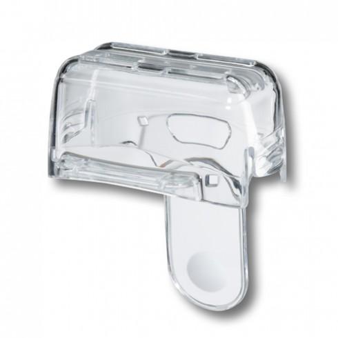 photo de Capot de protection grille translucide pour rasoir Séries 3 3000-3090 BRAUN