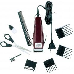 photo de MOSER 1400 Tondeuse cheveux avec 4 sabots de 4,5 à 15mm et accessoires