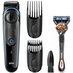 photo de BRAUN Tondeuse barbe rechargeable et secteur, acces. barbe 3jrs - longue - contours