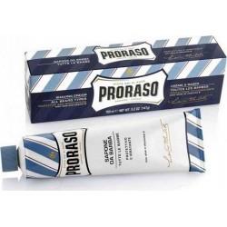 photo de Crème à Raser Bleue, protectrice et hydratante, tube 150 ml PRORASO