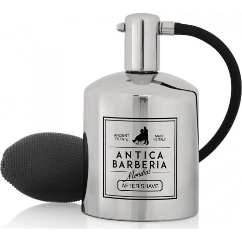 photo de Flacon Atomiseur Parfum en Inox avec Poire Antica Barberia MONDIAL 1908