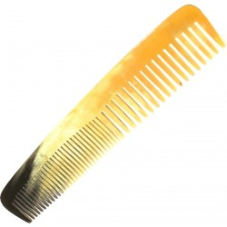 photo de Peigne Cheveux déméloir en corne véritable 18.5 cm LORDSON