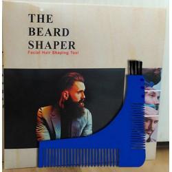 photo de Peigne guide pour barbe à modeler Bleu (PEGUBABL) Lordson