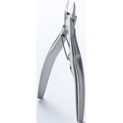 photo de Pince à ongle grande précision, en acier brossé très haute qualité (SS-203) Seki Edge