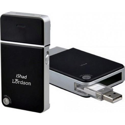 """photo de Lordson L1880 Rasoir électrique de voyage \\""""iShad\\"""" rechargeable par USB"""