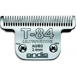 photo de Lame extra-large 2.4 mm N° T84 ANDIS, TC21641 pour tondeuse PRO AGC/AGR/BGC/MBG/SMC