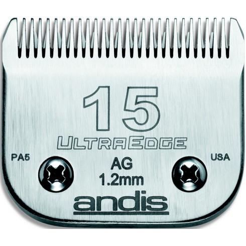photo de Lame 1.2 mm N°15 ANDIS, tête de coupe TC64072 pour tondeuse PRO AGC/AGR/BGC/MBG/SMC