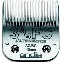 photo de Lame 13 mm N°3-3/4 ANDIS, tête de coupe TC64135 pour tondeuse PRO AGC/AGR/BGC/MBG/SMC