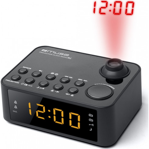 achat en ligne radio reveil projection de l 39 heure pll mw fm prise. Black Bedroom Furniture Sets. Home Design Ideas
