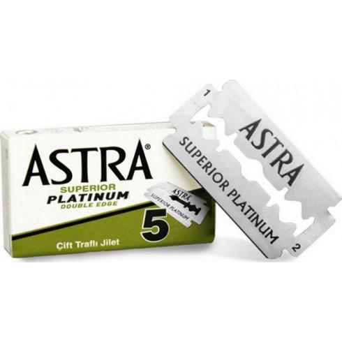 Boîte de 5 lames Super Platinium ASTRA