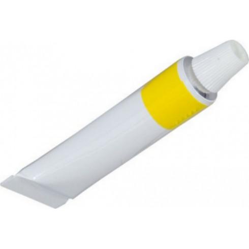 Tube de pâte jaune 8gr 5ml, pour l'entretien des cuirs d'affutage HEROLD