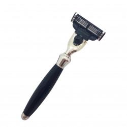 Rasoir Mach3 manche noir 11cm LORDSON