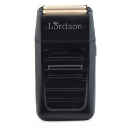 Rasoir à grille Sect&recharg. noir, moteur rotatif, batterie lithium LORDSON