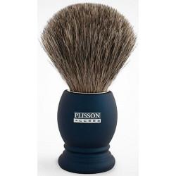 *- Blaireau pur poil gris de Russie T12, Access manche bleu nuit PLISSON