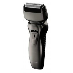Rasoir électrique PANASONIC rechargeable Wet & Dry 2 Lames noir et argent, tête pivotante