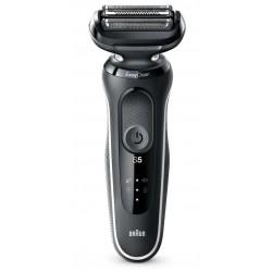 Rasoir rechargeable BRAUN 50-W1000S Séries 5 W&D Noir, tête flexible