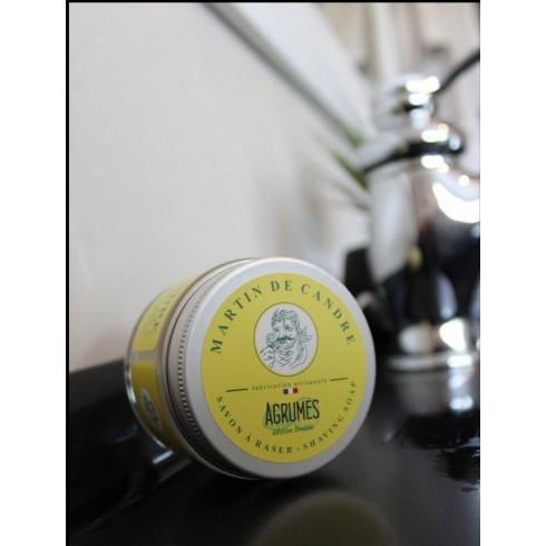 Savon à Raser MARTIN DE CANDRE parfum Agrumes 50gr