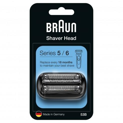 Cassette Combipack BRAUN 53B pour rasoir Séries 5, Séries 6 (nouvelle génération)
