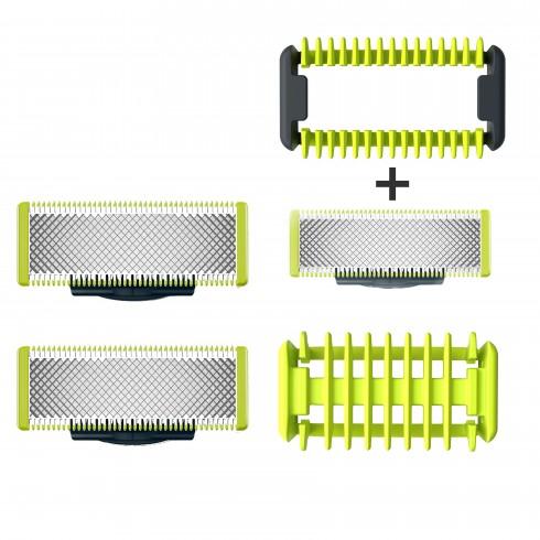 Lot de 3 Lames One Blade + sabot 3mm de protection zones sensibles