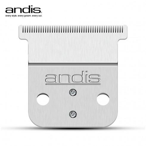 Tête de coupe en T inox 0.00mm pour SLIMLINE PRO LI D-8 32445/225/485/495 ANDIS