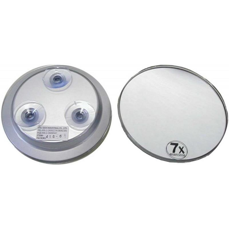 Achat en ligne miroir ventouse grossissant x7 15cm 64809t for Miroir ventouse grossissant