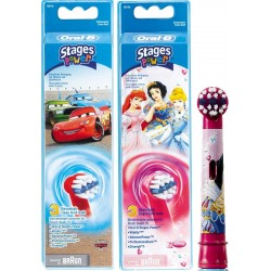 photo de Brossettes X3 pour brosse à dent Power Kid 950TX ( EB10X3K)