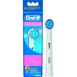 photo de Brossettes X3 Extra Soft Sensitive Oral-B de BRAUN (EB17X3ES)