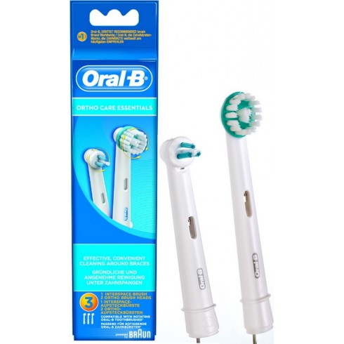 photo de Brossette Orthodontique ORAL-B de BRAUN(OD17).
