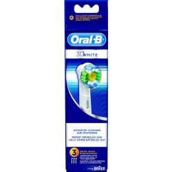 photo de Brossettes X3 3D White Oral-B de BRAUN(EB18X3)