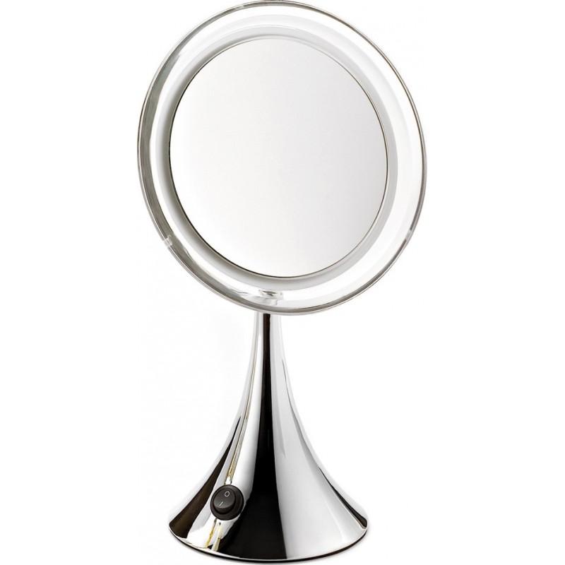 Achat en ligne miroir lumineux grossissant x7 pile for Miroir sur pied 50 cm