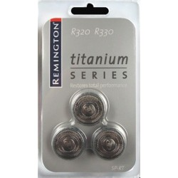 photo de Remington SP-RT Tête de rasoir titanium pour rasoir électrique série R3