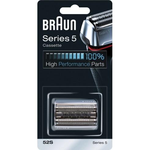 photo de Braun 52S Tête (cassette) pour rasoir électrique Braun Séries 5 5070 / 5090CC