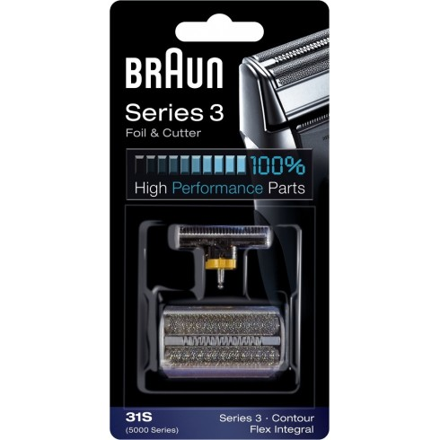photo de Braun 31S CombiPack, grille et couteau pour rasoir électrique séries 3 version 2008