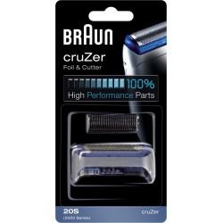 photo de Braun 20S Combi Pack, grille et couteau pour rasoir électrique Cruzer